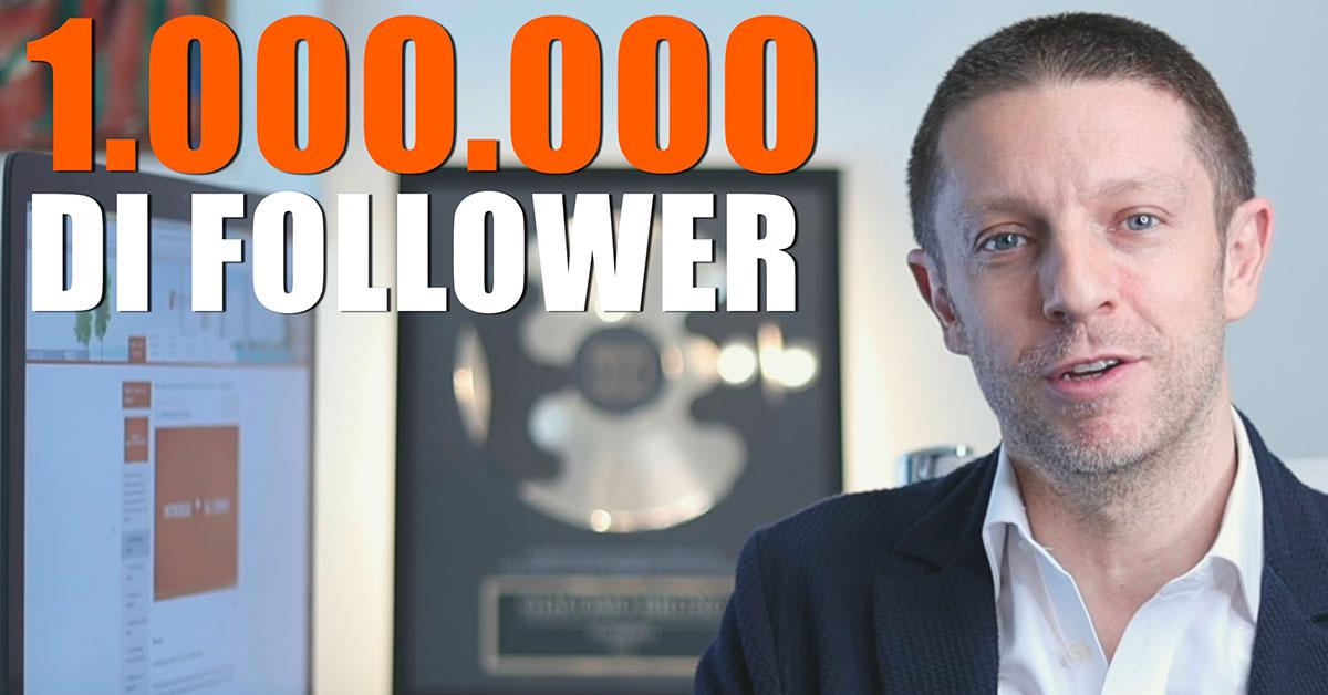 1 Milione di Follower: Ecco Come Aumentare i Follower