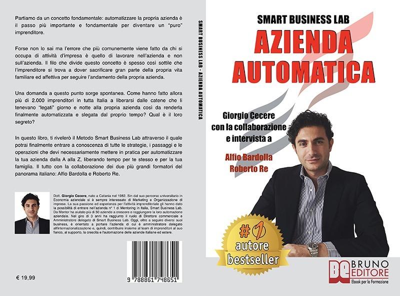 """Giorgio Cecere: """"Azienda Automatica"""" è Bestseller su Amazon"""