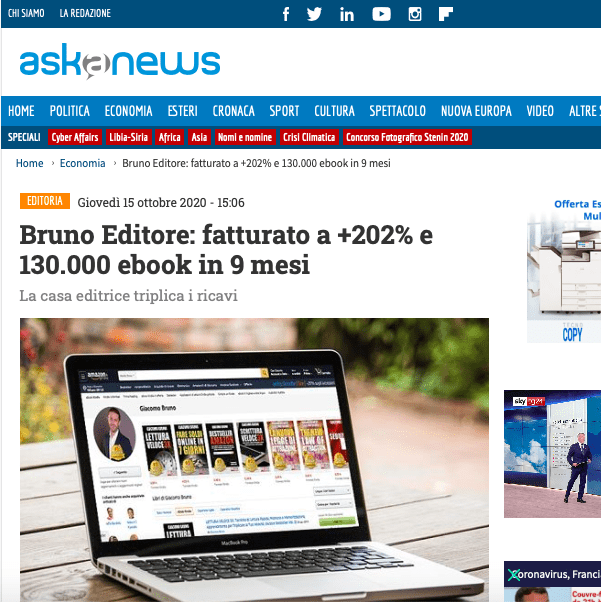 BRUNO EDITORE ASKANEWS