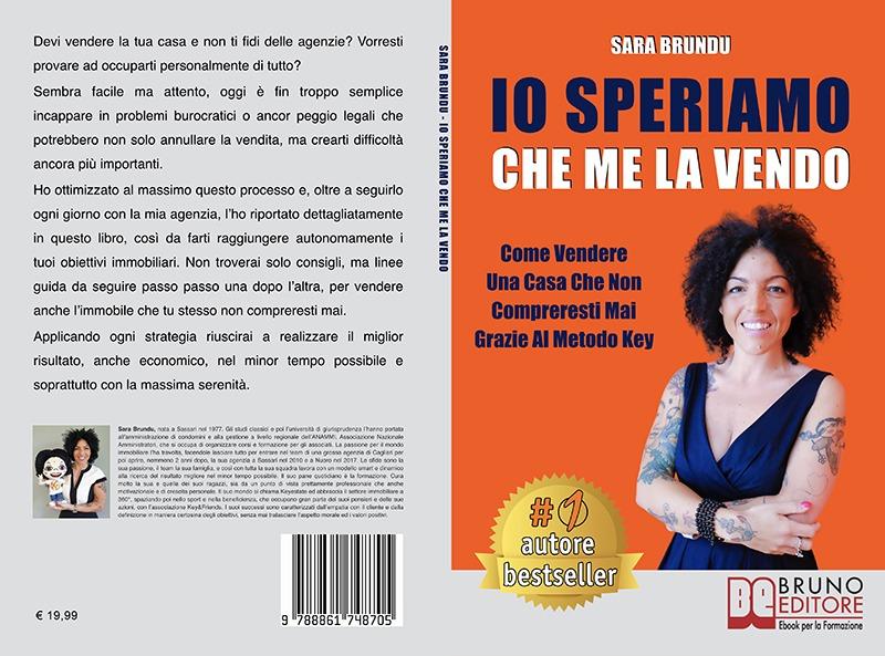 """Sara Brundu: """"Io Speriamo Che Me La Vendo"""" è Bestseller su Amazon"""
