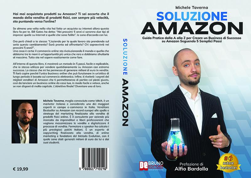 """Michele Taverna: Bestseller """"Soluzione Amazon"""", il libro su come vendere su Amazon partendo da zero"""