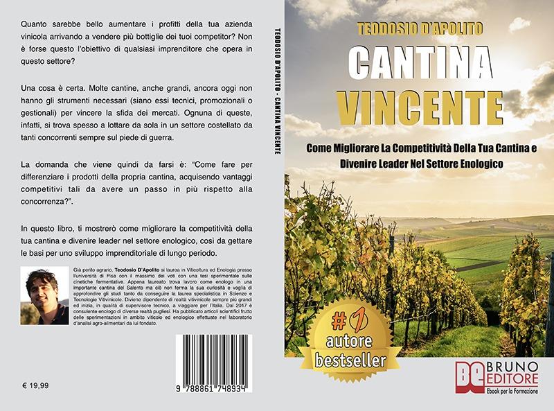 """Teodosio D'Apolito: Bestseller """"Cantina Vincente"""", il libro su come aumentare i fatturati di un'azienda vinicola"""