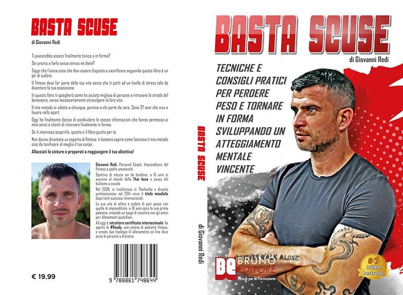 """Giovanni Redi: """"Basta Scuse"""" è Bestseller su Amazon"""