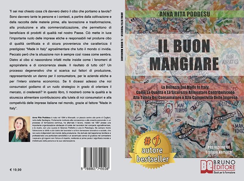 """Anna Rita Poddesu: Bestseller """"Il Buon Mangiare"""", il libro su come capire il valore del cibo che portiamo a tavola"""