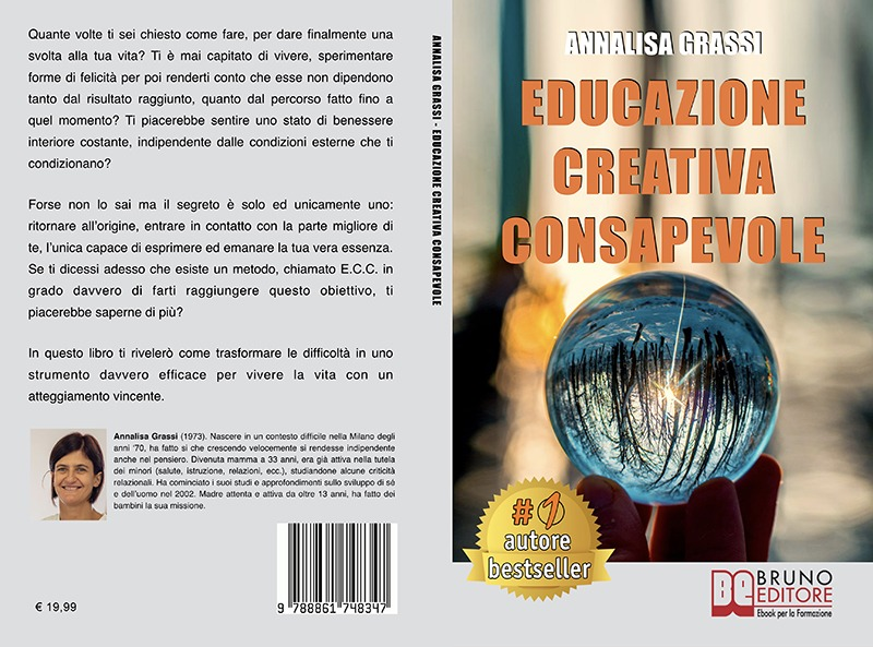 """Annalisa Grassi: """"Educazione Creativa Consapevole"""" è Bestseller su Amazon"""