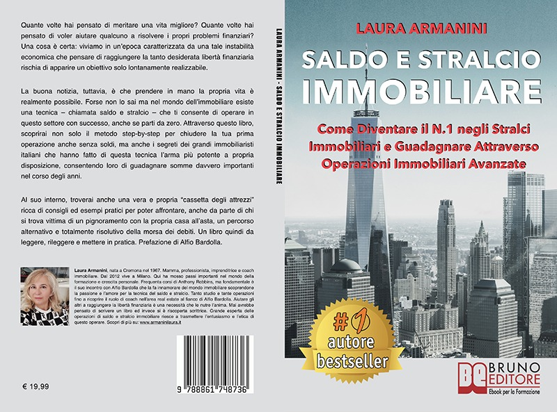 """Laura Armanini: """"Saldo E Stralcio Immobiliare"""" è Bestseller su Amazon"""