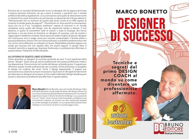 """Marco Bonetto: """"Designer Di Successo"""" è Bestseller su Amazon"""