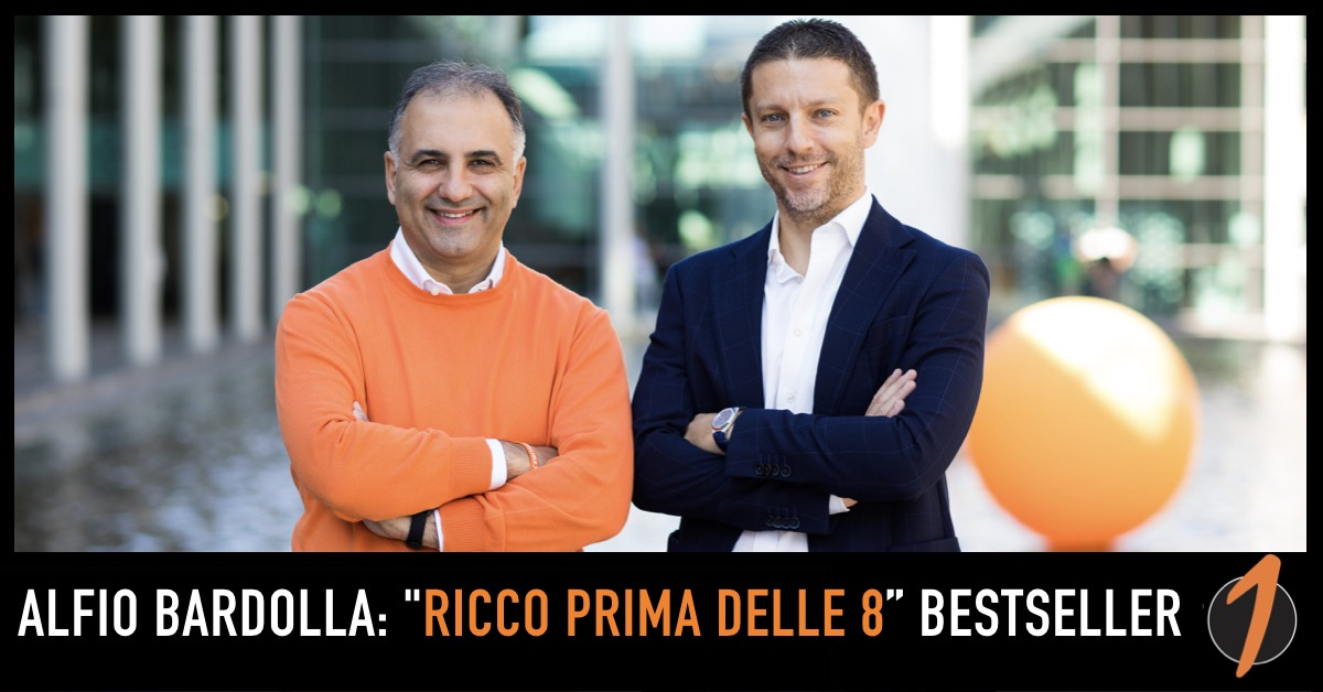 """Alfio Bardolla: """"Ricco prima delle 8"""" scala le classifiche svelando i segreti dei milionari"""