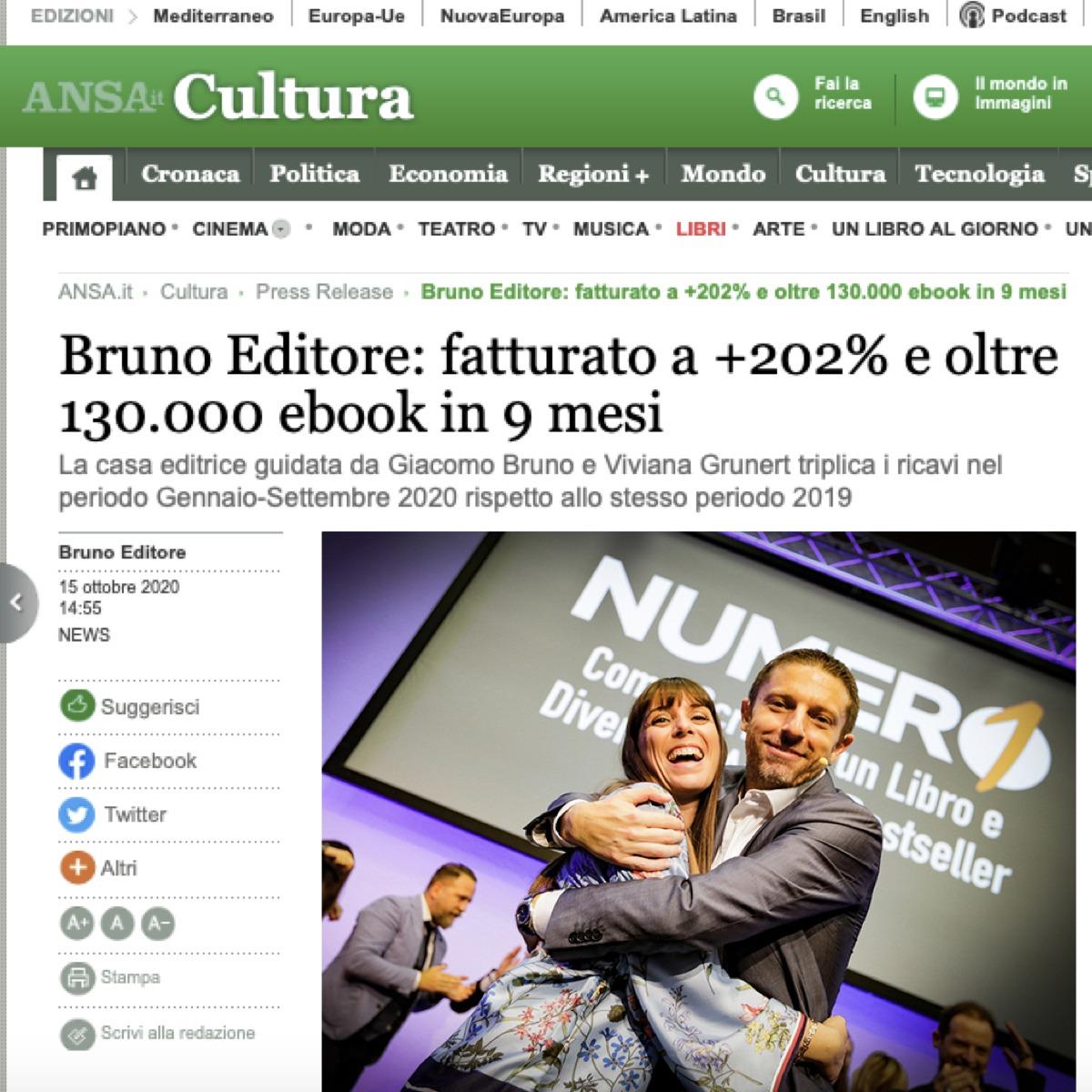 BRUNO EDITORE ANSA
