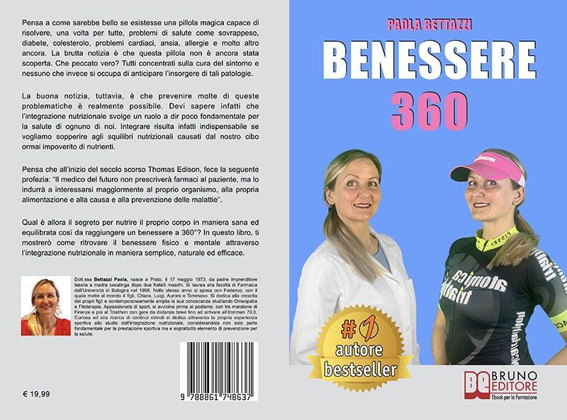 """Paola Bettazzi: """"Benessere 360"""" è Bestseller su Amazon"""