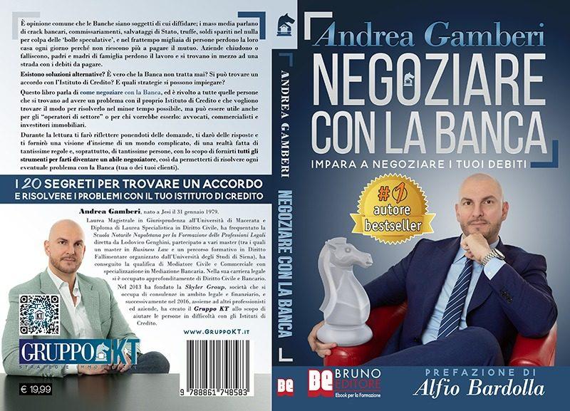 """Andrea Gamberi: """"Negoziare Con La Banca"""" è Bestseller su Amazon"""