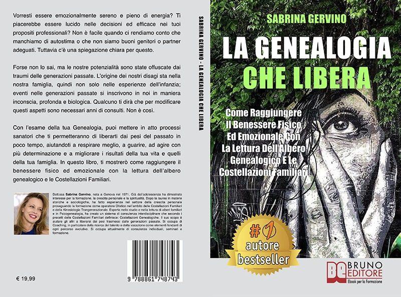 """Sabrina Gervino: """"La Genealogia Che Libera"""" è Bestseller su Amazon"""