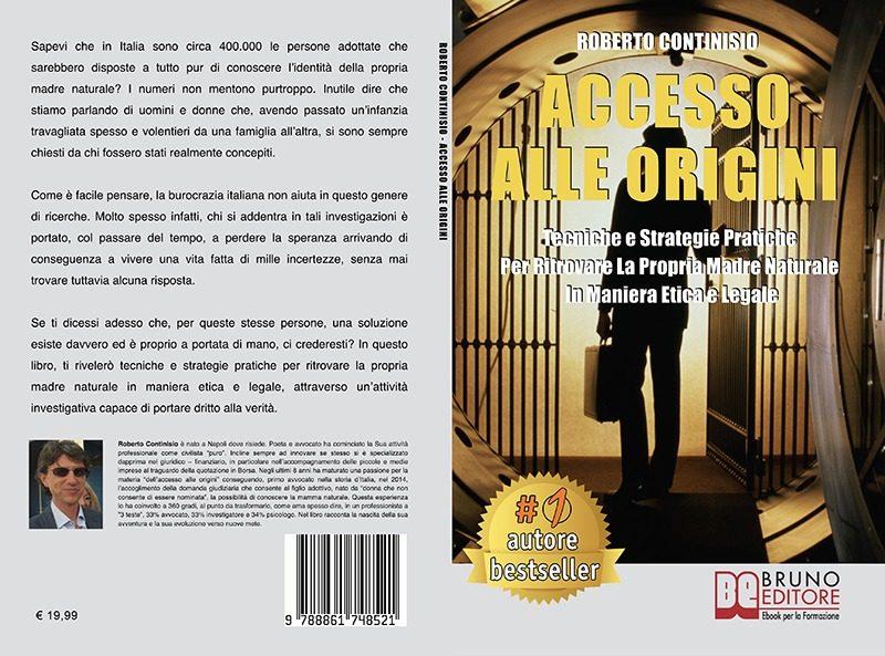 """Roberto Continisio: """"Accesso Alle Origini"""" è Bestseller su Amazon"""