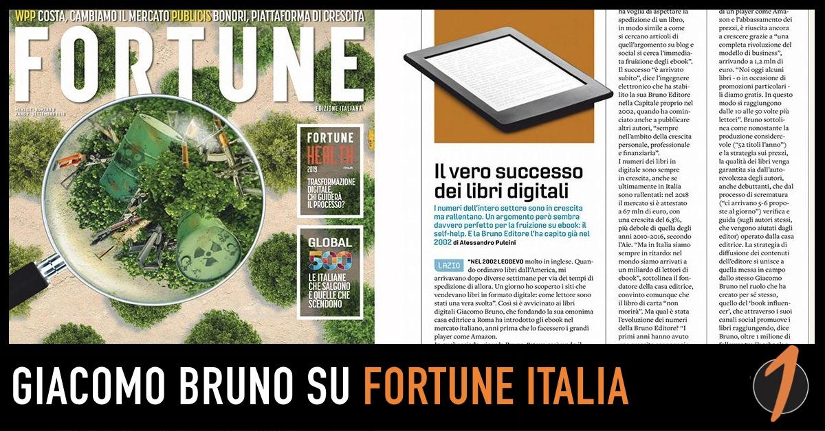 Giacomo Bruno intervistato da Fortune