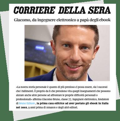 Giacomo Bruno il papà degli ebook