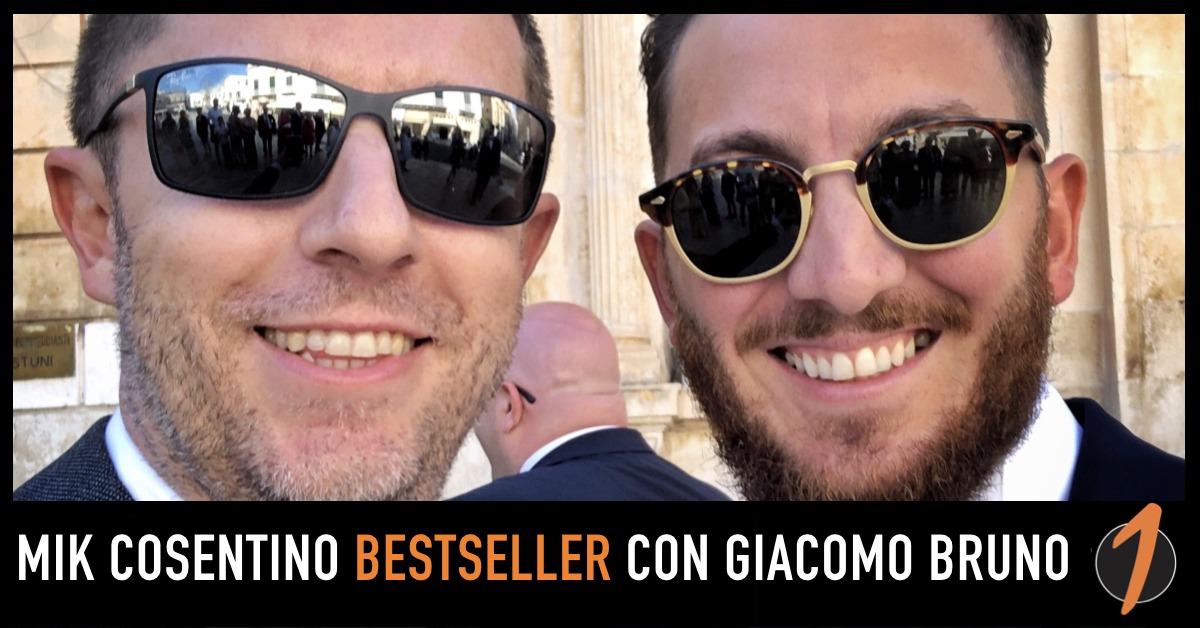 Giacomo Bruno rilancia l'ebook di Mik Cosentino: è subito Bestseller
