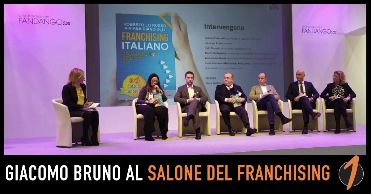 Giacomo Bruno al Salone del Franchising